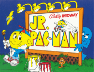 Jr. Pac-Man - Arcade flyer (1983)