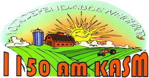 KASM - Image: KASM AM logo