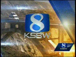 KSBW - KSBW Action News 8 title card from September 2013 until June 2016. The station since then made a graphics update to their title card.