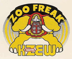 KBFB - KZEW's Zoo Freak logo.