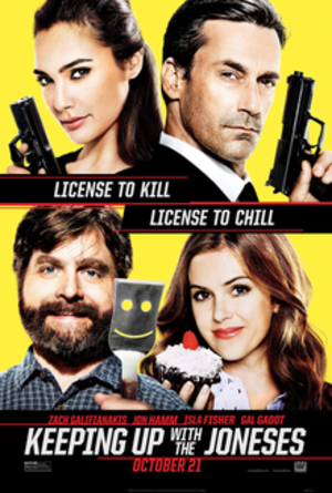 Keeping Up with the Joneses (film) - Theatrical release poster