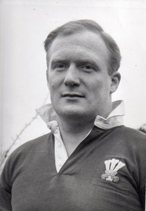 Keith Rowlands - Image: Keith rowlands rugby player