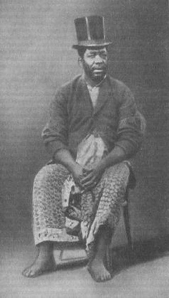 Ndumbe Lobe Bell - King Bell in 1886