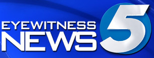"KOCO-TV - Former alternate logo for KOCO's newscasts under the ""Eyewitness News 5"" brand."