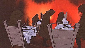 Nazgûl - The Nazgûl, as portrayed in the 1978 animated film version