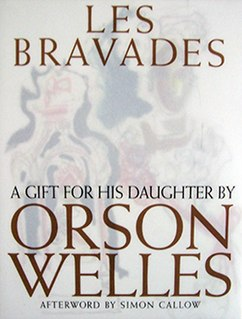 book by Orson Welles