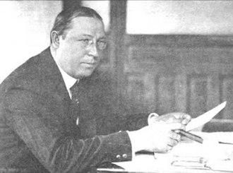 Louis K. Liggett - Liggett in 1920