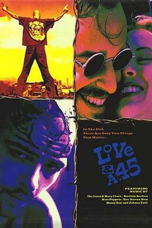 Love and a .45 - Theatrical release poster