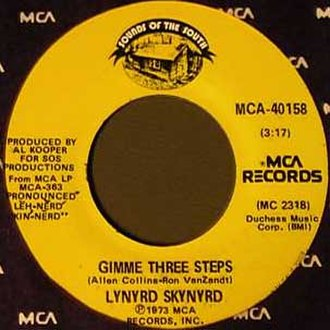Gimme Three Steps - Image: Lynyrd Skynyrd Gimme Three Steps