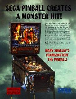 <i>Mary Shelleys Frankenstein</i> (pinball) 1995 pinball machine