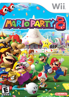 <i>Mario Party 8</i> 2007 party video game