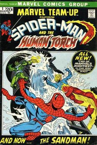 Marvel Team-Up - Image: Marv team up 001
