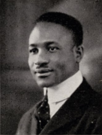 J. Mayo Williams - Williams in 1920