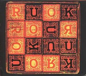 RUOK? - Image: Meat Beat Manifesto RUOKCD Cover
