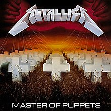 Metallica Master of Puppets Cover Art