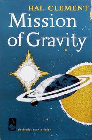 Mission of Gravity - Cover of first edition (hardcover)