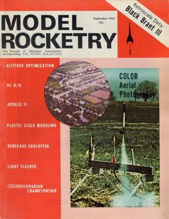 Model Rocketry (magazine) - September 1969 issue of Model Rocketry.