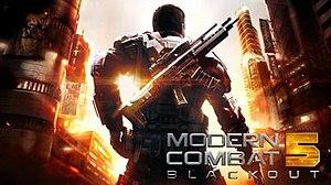 Modern Combat 5: Blackout - Image: Modern Combat 5