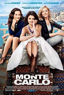 <i>Monte Carlo</i> (2011 film) 2011 film by Thomas Bezucha