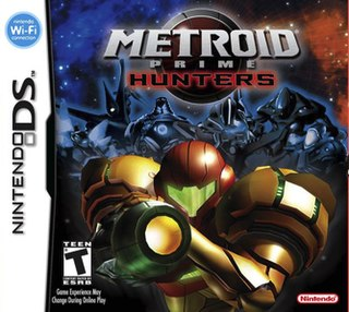 <i>Metroid Prime Hunters</i> 2006 action-adventure game published by Nintendo