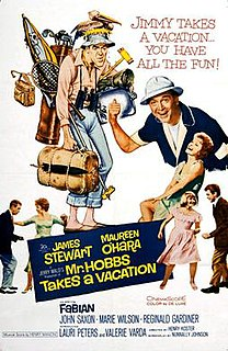 <i>Mr. Hobbs Takes a Vacation</i> 1962 film by Henry Koster