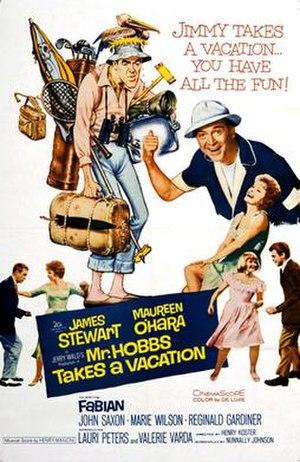 Mr. Hobbs Takes a Vacation - Original cinema poster