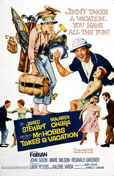 Picture of a movie: Mr. Hobbs Takes A Vacation