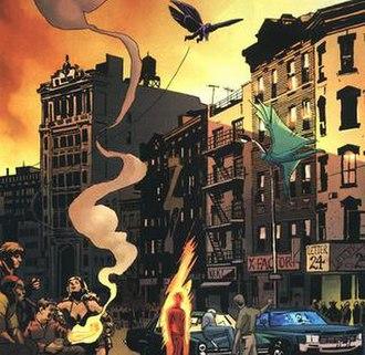 District X - Image: Mutant town