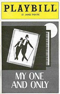<i>My One and Only</i> (musical) musical