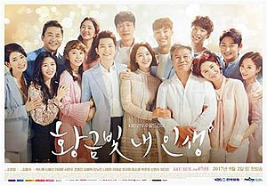 My Golden Life - Promotional poster