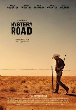 Mystery Road - Theatrical film poster