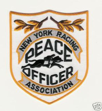 New York Racing Association - NYRA Peace Officer Patch.