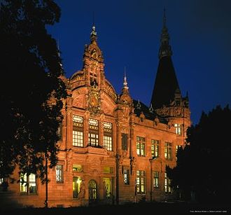 Heidelberg University Library - The main building, built in 1905