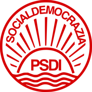 Italian Democratic Socialist Party - Image: PSDI Logo 2004