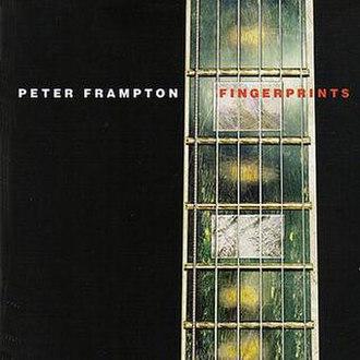 Fingerprints (Peter Frampton album) - Image: Peter Frampton Fingerprints Frontal