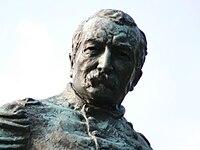 Detail of monument to General Sheridan in Sheridan Circle, Washington, D.C.