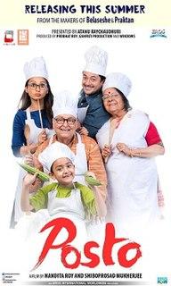 <i>Posto</i> (film) 2017 Indian film directed by Nandita Roy Shiboprosad Mukherjee