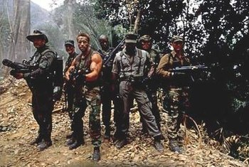 The Cast of Predator