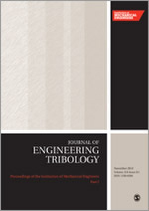 Proceedings of the Institution of Mechanical Engineers, Part J: Journal of Engineering Tribology - Image: Proceedings of the I Mech E J journal cover