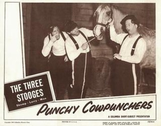 <i>Punchy Cowpunchers</i> 1950 film by Edward Bernds