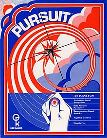 Pursuit arcade game flyer.jpg