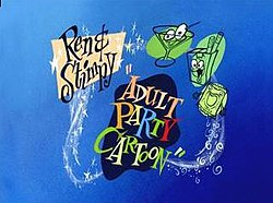 ren and stimpy adults party cartoon