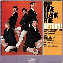 the dave clark five discography