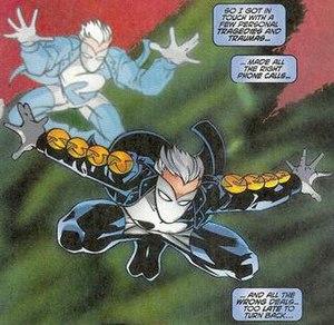 Ricochet (comics) - Image: Ricochet Johnny