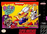 Rocko's Modern Life: Spunky's Dangerous Day, a Super Nintendo Entertainment System video game.