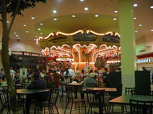Viaport Rotterdam - The carousel in the food court