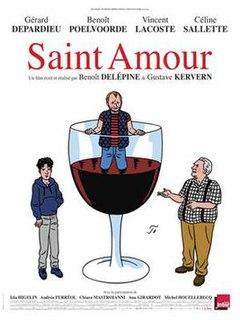 <i>Saint-Amour</i> (film) 2016 film by Gustave de Kervern, Benoît Delépine