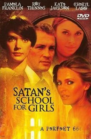 Satan's School for Girls (1973 film) - DVD cover for Satan's School for Girls