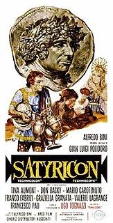 <i>Satyricon</i> (1969 Polidoro film) 1969 film by Gian Luigi Polidoro
