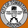 Official seal of Tombstone, Arizona